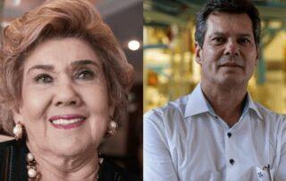 Legenda: Maria Consuelo, Amarílio Proença e Francisco Claúdio integram os dois grupos cearenses que estão na lista dos bilionários do setor da alimentação, segundo a Forbes Foto: Divulgação